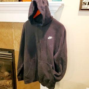 Nike Pullover Sweatshirt Hoodie Embroidered Logo